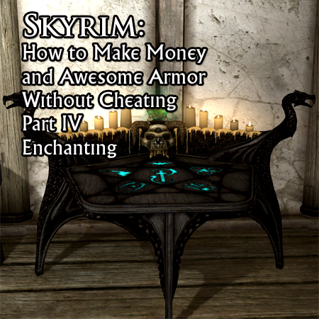 skyrim how to make the best enchanting potions