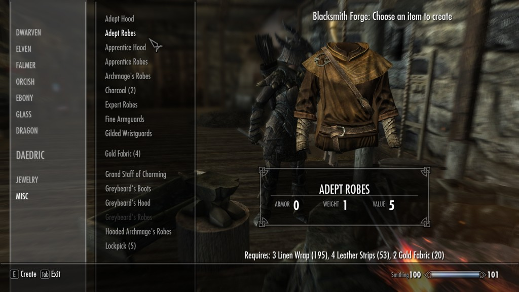 Skyrim Mod Craft Anything Without Uniques